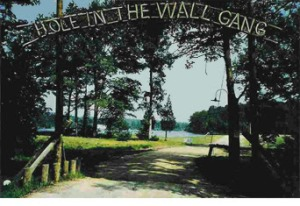 Hole in the Wall Gang Camp Entrance