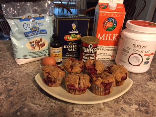 Everything you'll need to make Lisa's Homemade Muffins